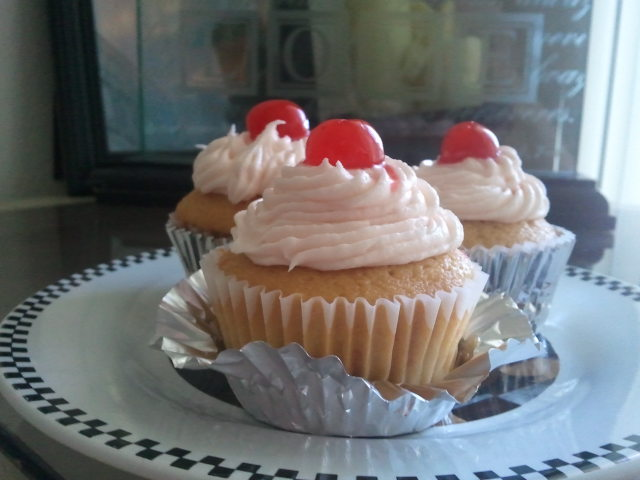 ... Vanilla Cherry Cola Cupcakes with Cherry Vanilla Buttercream Frosting