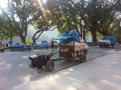 Nepali tractor