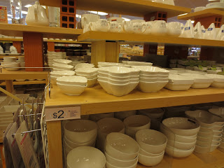 Daiso bowls and saucers