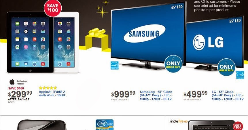 Best Buy Black Friday Flyer And Ad Black Friday Ads 2013