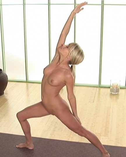 Sara jean underwood nake yoga