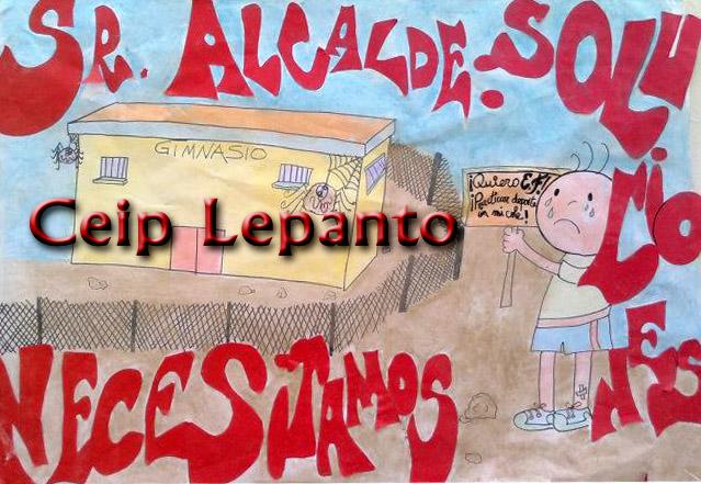 Obras en el colegio Lepanto