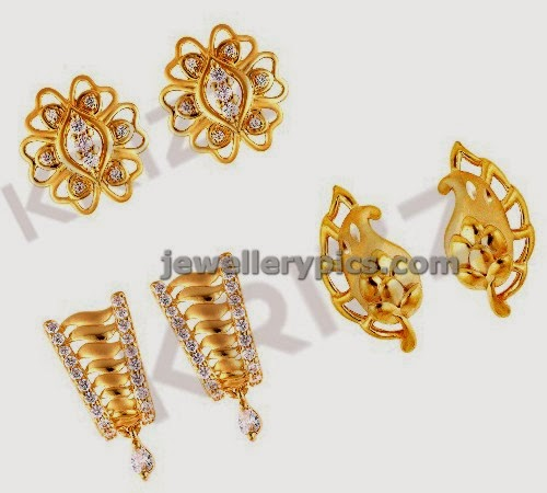Jewellery Design Pictures Stylish Daily Wear Gold