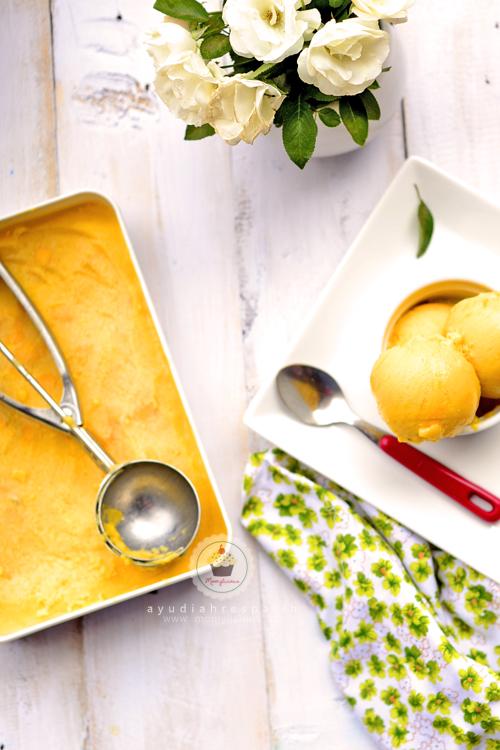 Puding Ice Cream Mangga