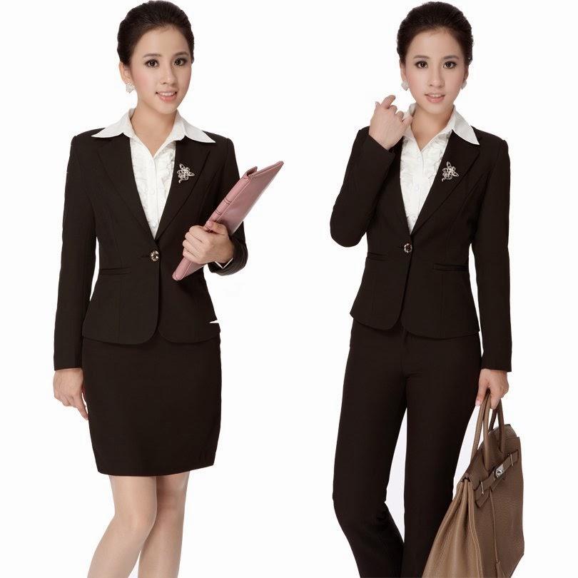 Model Baju Kerja Wanita Rok dan Celana Terbaru 2015