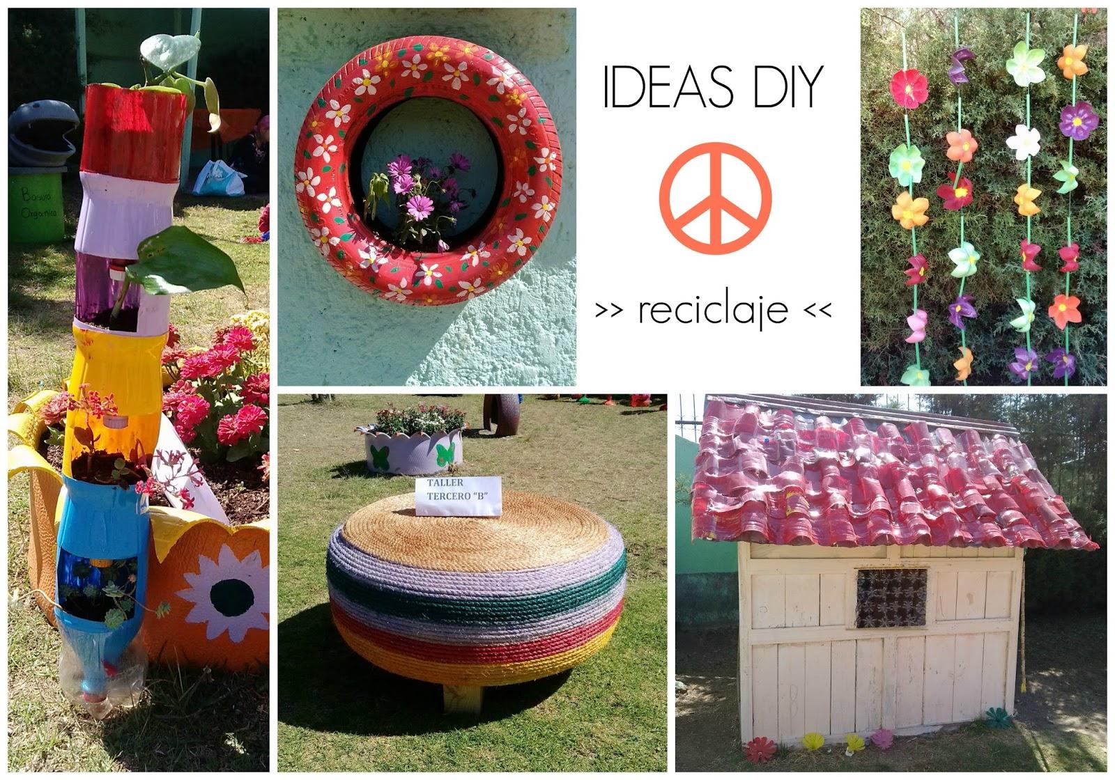 ideas diy reciclaje