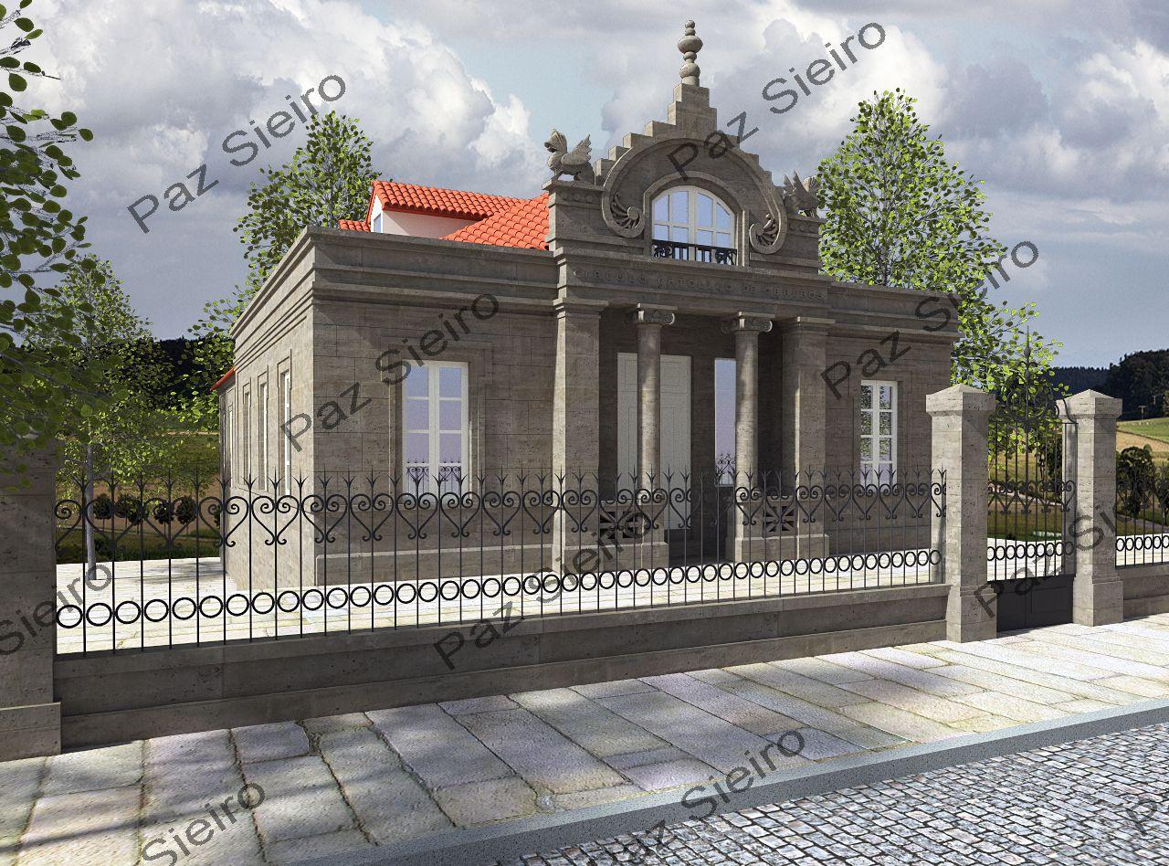 Edificio c rculo cat lico de obreiros 1905 r a paseo - Arquitectos ourense ...