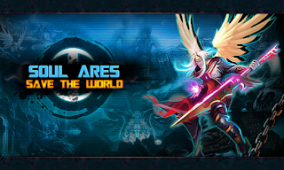 Screenshots of the Soul Ares: Save the World for Android tablet, phone.