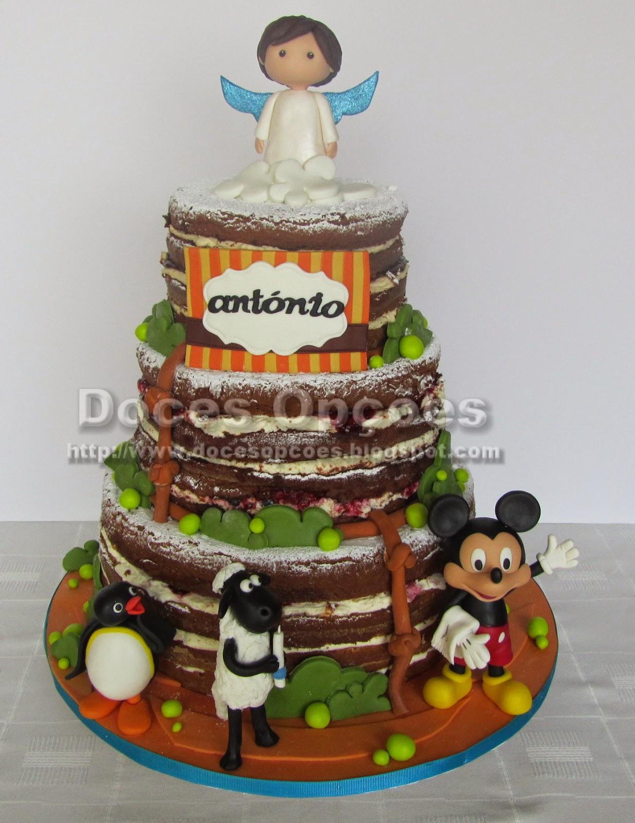 bautismo torta