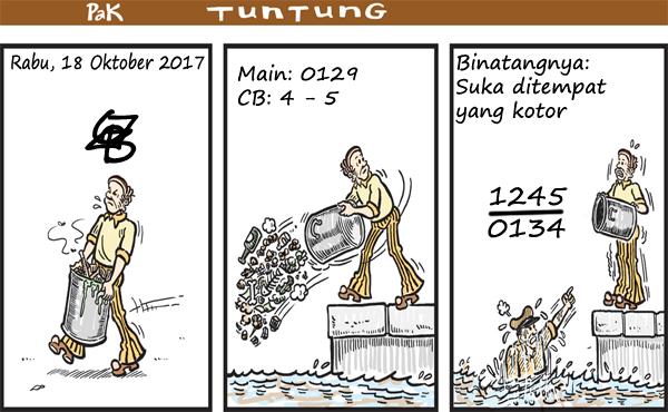 Prediksi Gambar Pak Tuntung Rabu 18 10 2017