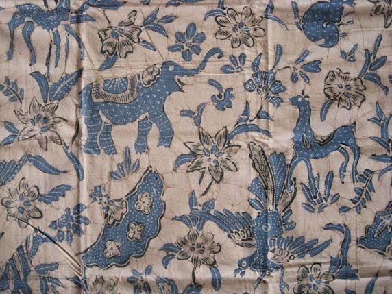 Motif Batik Hewan