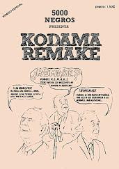 """""""El libro de arena"""" en Kodama Remake (5000 negros, 2011)"""