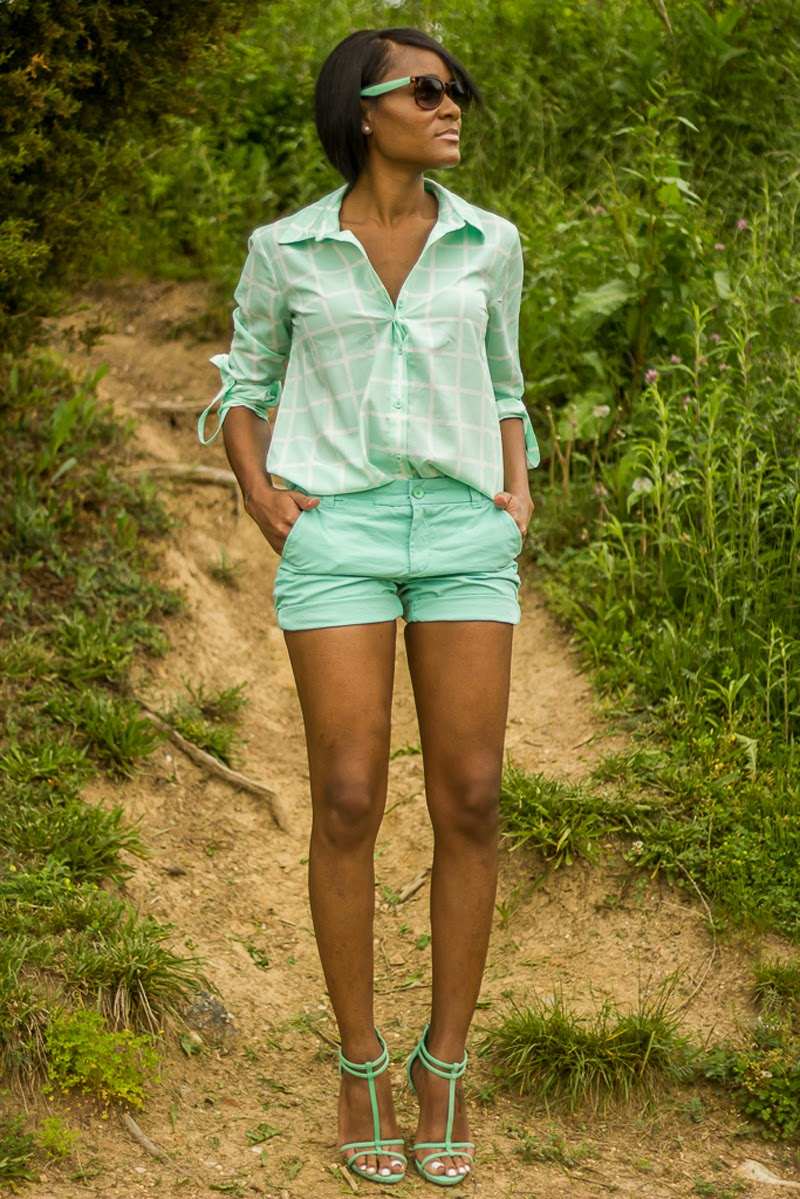 The Daileigh: Casual in Mint