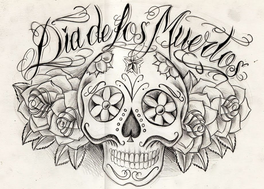 Free Dia Del Los Muertos Coloring Pages