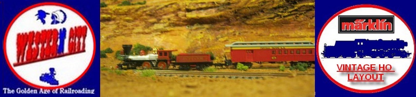 Western city Layout & Marklin Vintage Layout