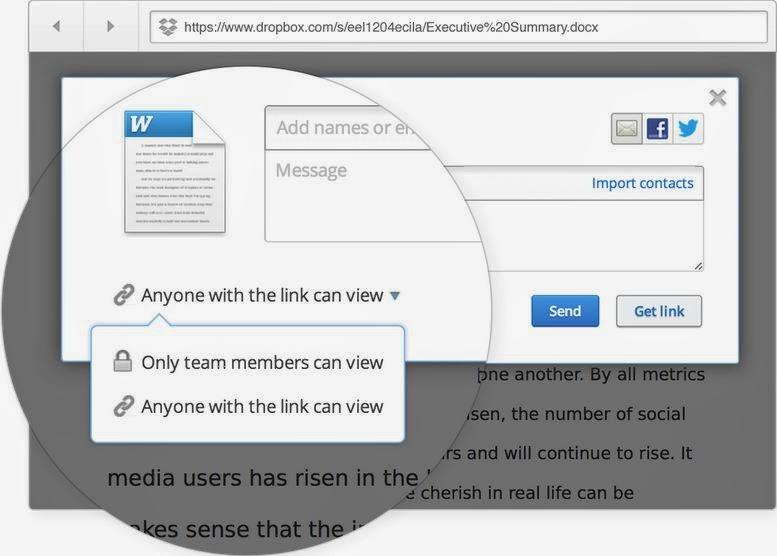 online files sharing
