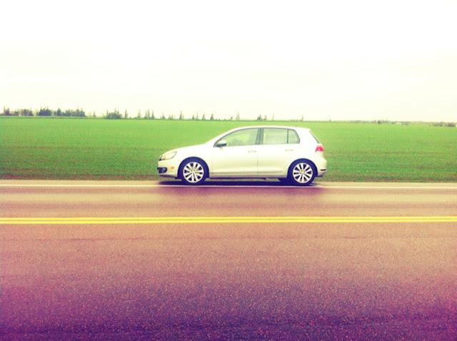 2013 Volkswagen Golf TDI Wolfsburg PEI highway