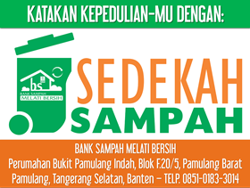 Say It With: Sedekah Sampah