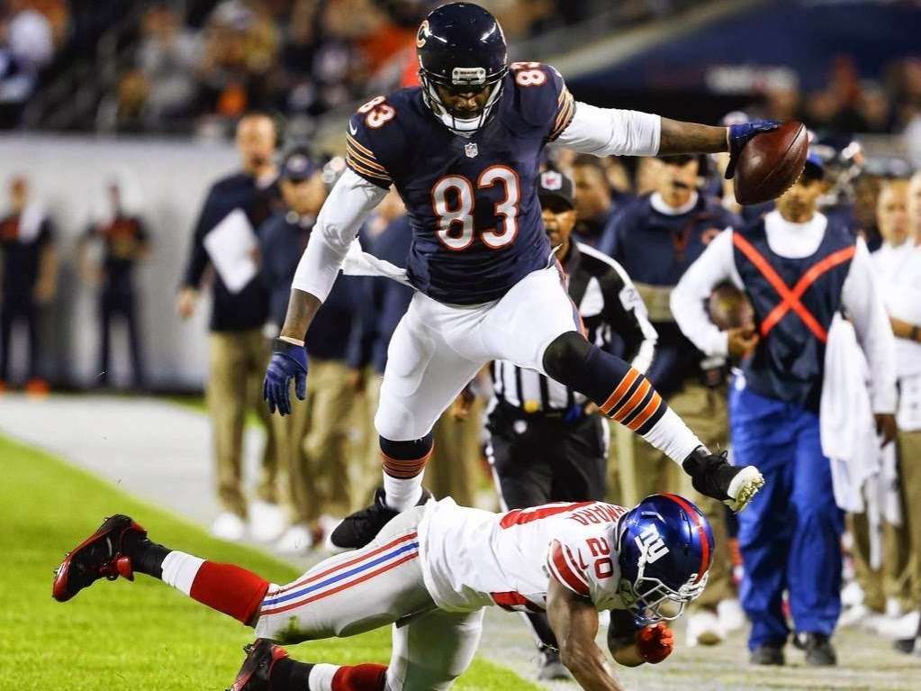 Chicago Bears tight end Martellus Bennett