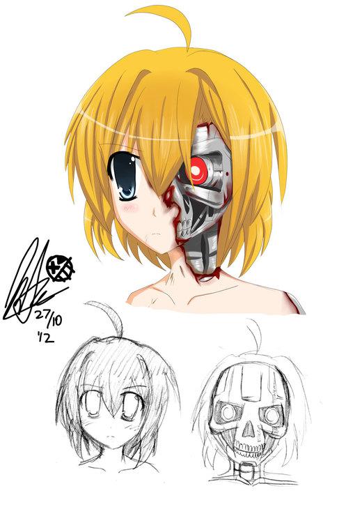 Doodles: Moe-Terminator por ZeroTheUltraDirector