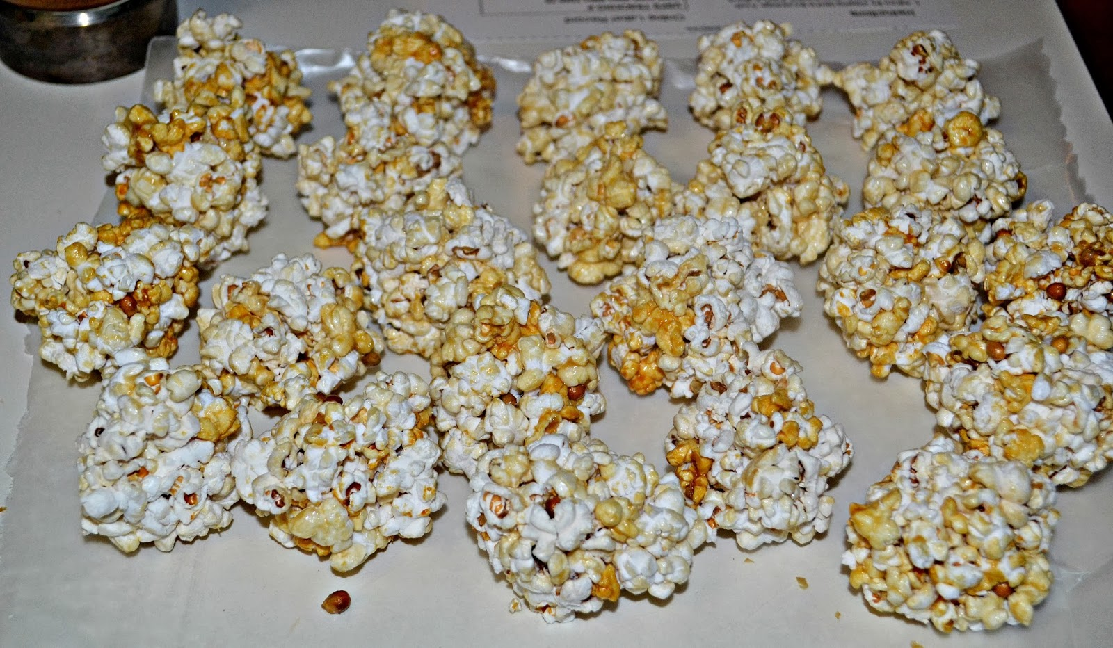 Caramel Corn Blondies - Hezzi-D's Books and Cooks