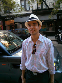 Narrow or Stingy Brim Panama Hat from The Hat House NY