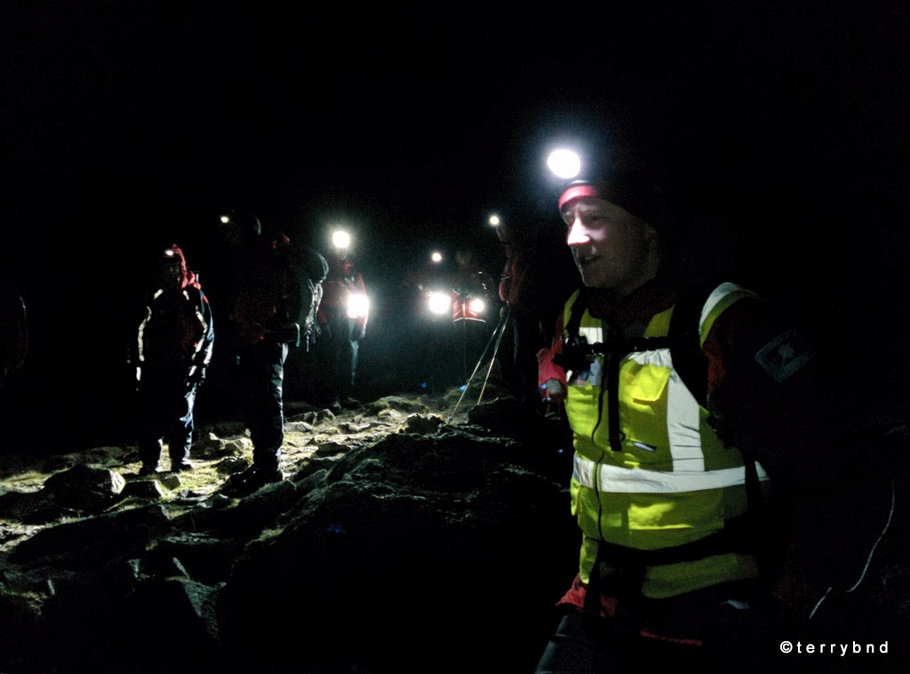 Wasdale Mountain Rescue winter callout
