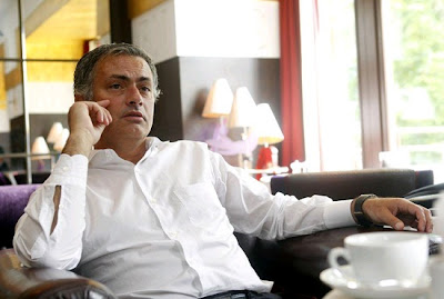 Jose Mourinho attending SKY at a hotel in London