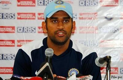 Dhoni in IPL 7