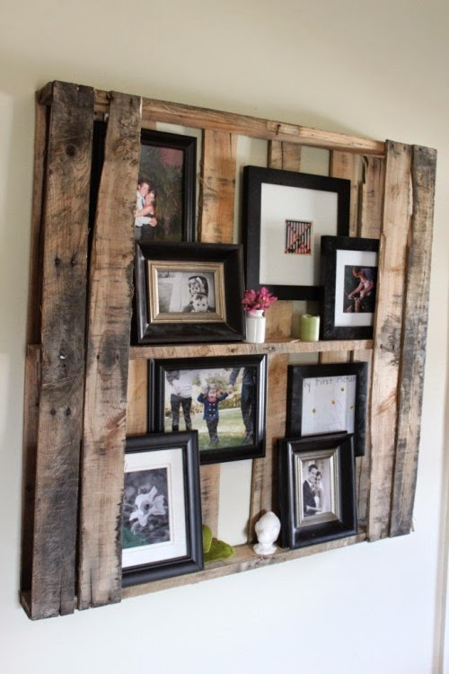 pallet picture selving design