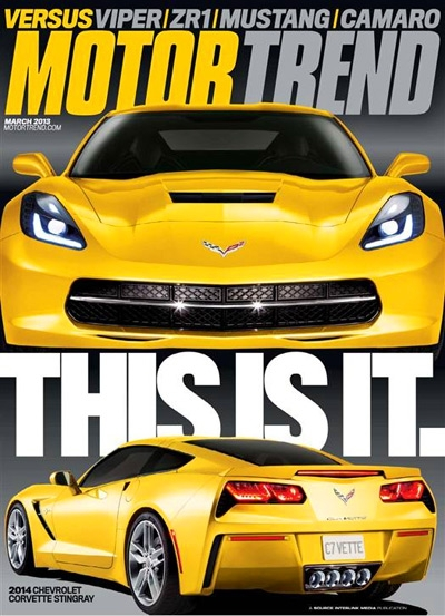 Download motor trend magazine march 2013 for New deal online motor trend