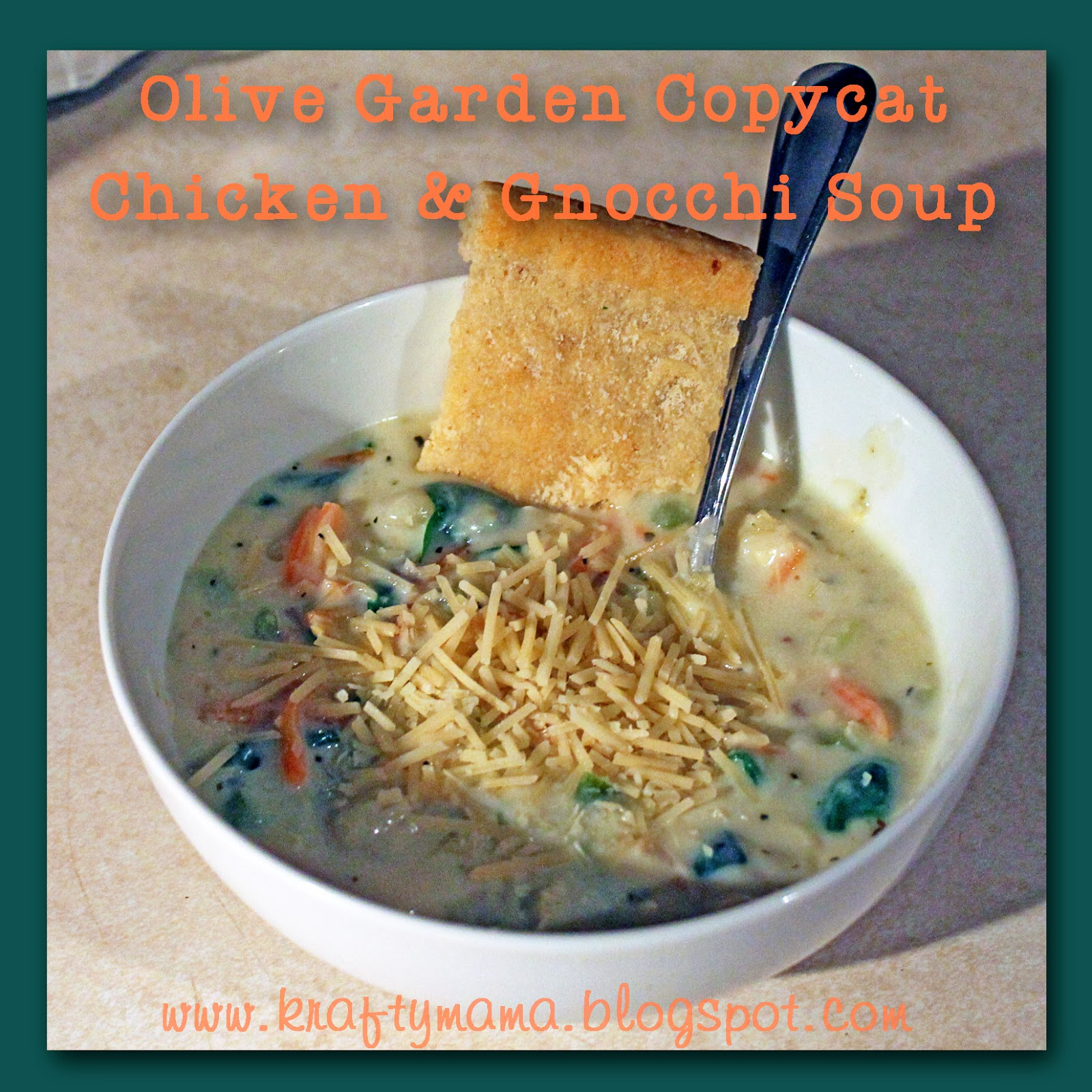 Kraf T Y Mama Copycat Olive Garden Chicken And Gnocchi Soup