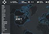 Mapa interactivo: Las Naciones Unidas de vigilancia.