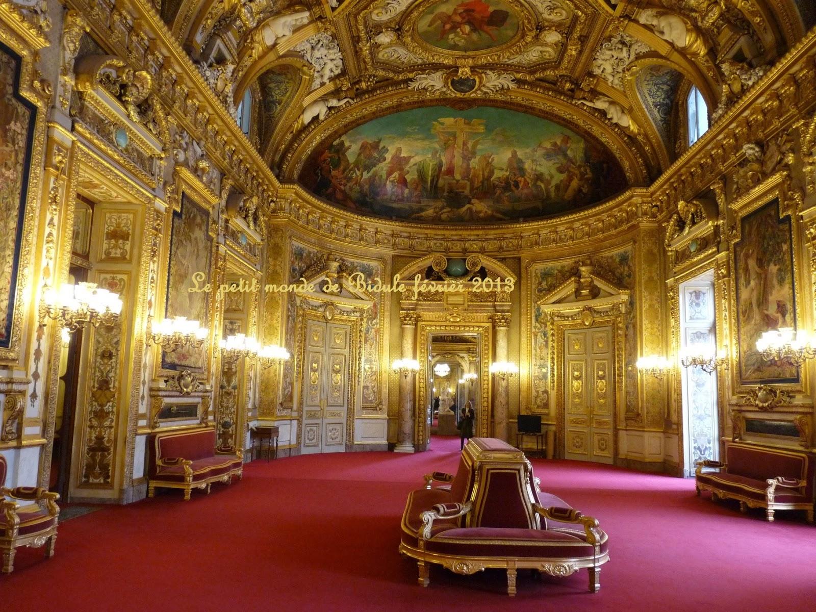 Le petit monde de bidule balade paris visite du s nat for Salon du tabac paris
