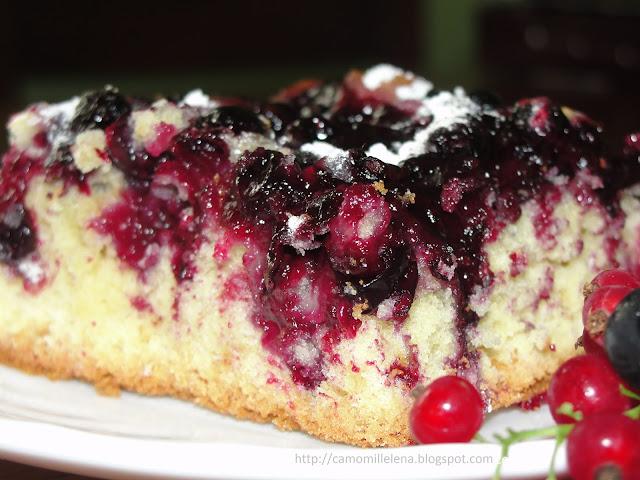 Пирог со смородиной рецепт с фото