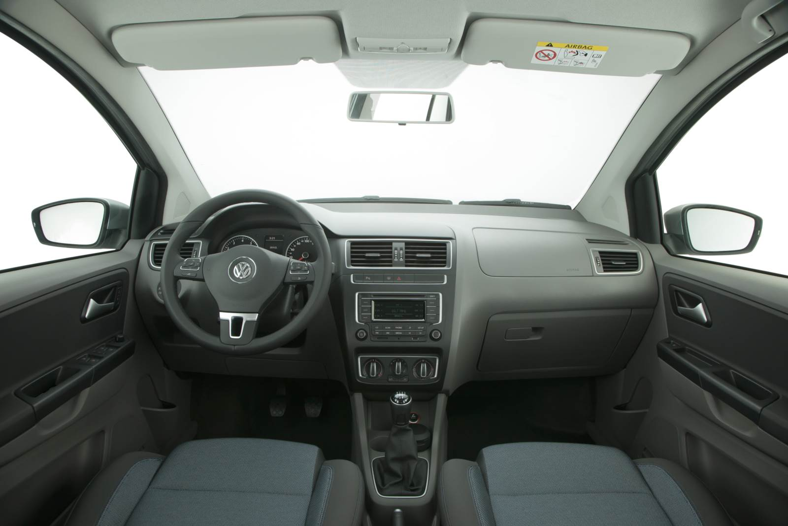 VW Fox Bluemotion 2015 - painel