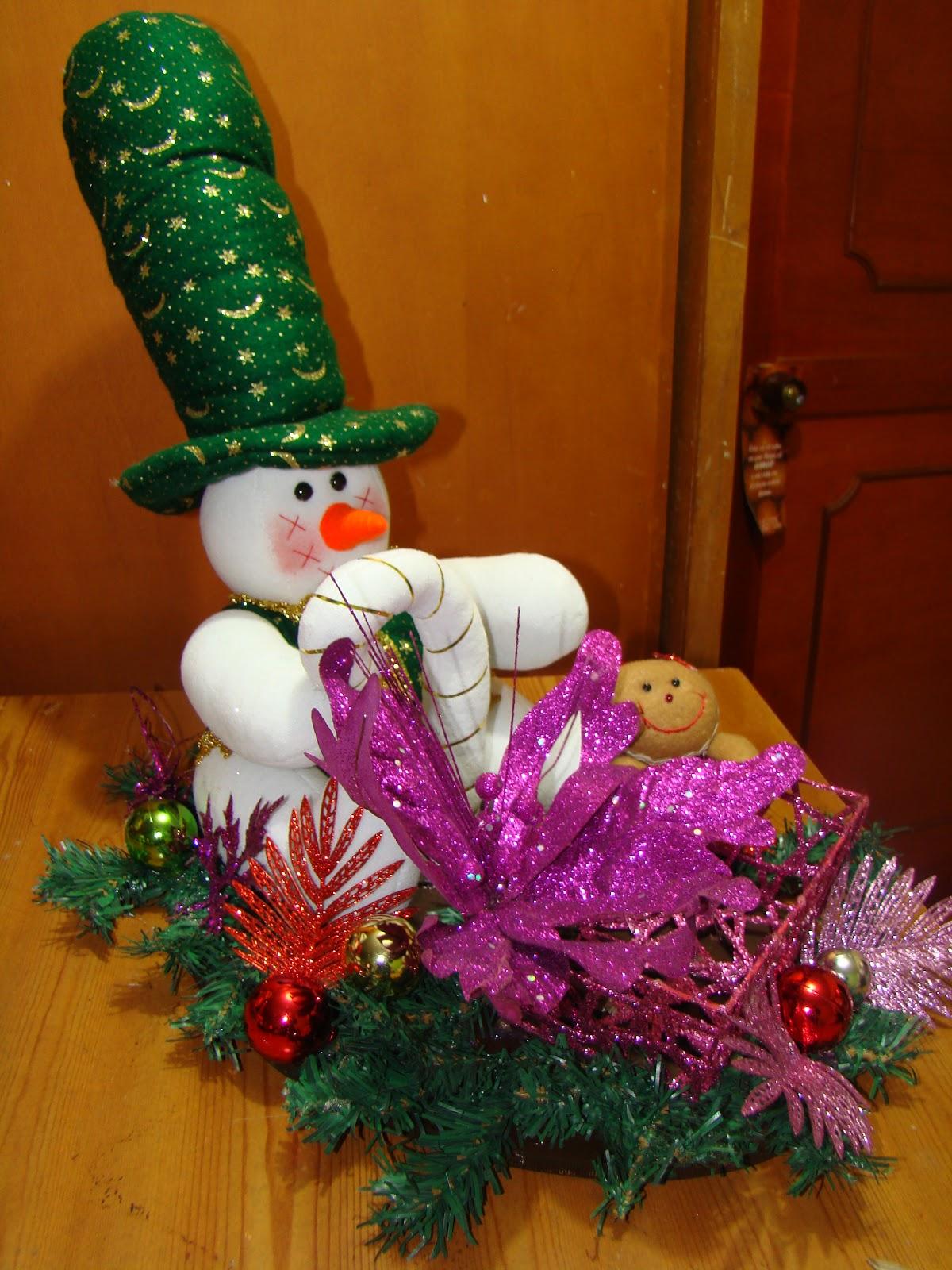 Arreglos navide os artesanias navide as - Arreglos navidenos para mesa ...