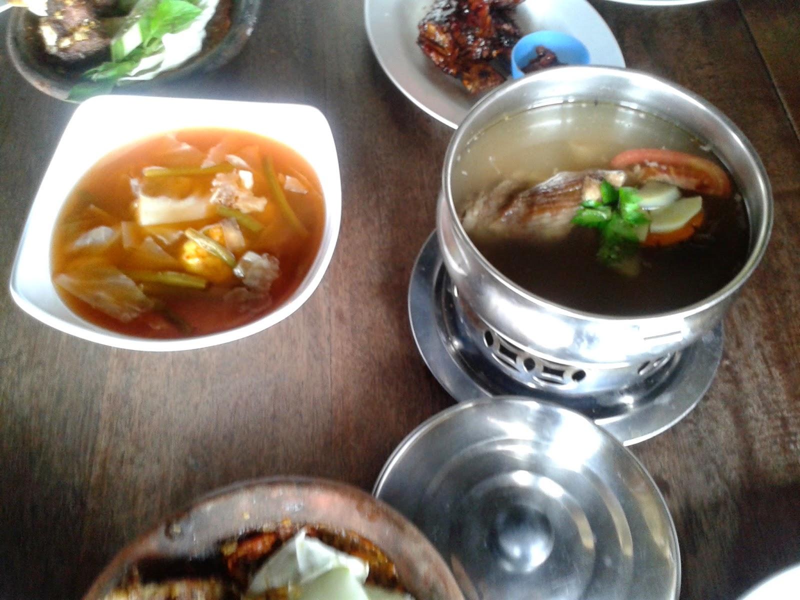 Hidangan yang kami pesan di Le'ko
