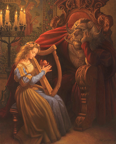 """Beauty and the Beast"" by Scott Gustafson"