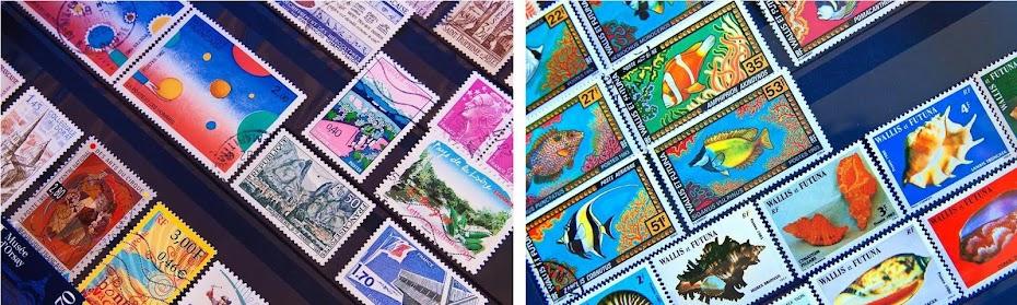 Les beaux timbres français des années 2000