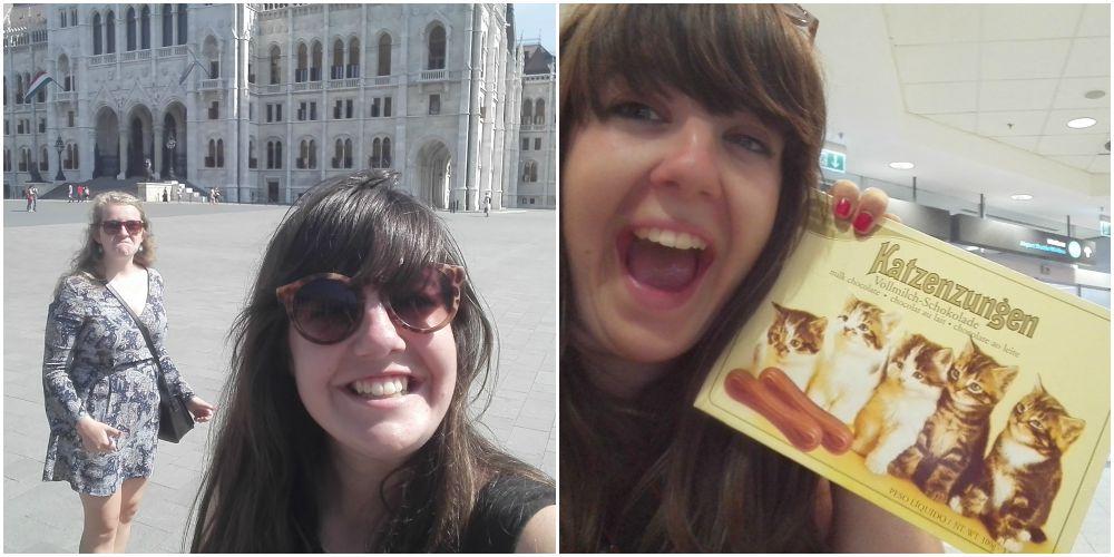 10 selfies in Boedapest