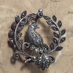 Vintage silver jewellery