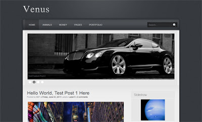 Venus Blogger Templates