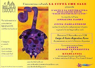 """L'arte e la letteratura sull'amico micio """"felis silvestris catus"""""""