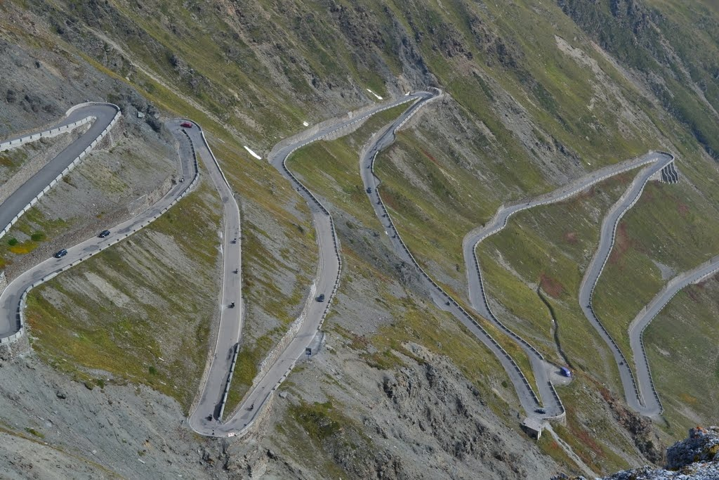 Stelvio Pass in the Palm of My Hand