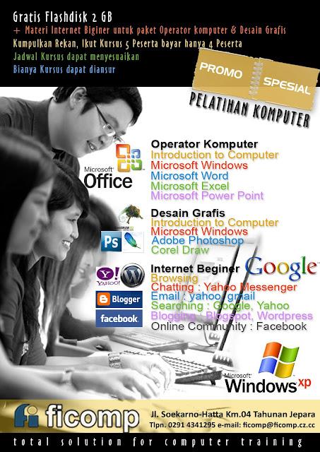 brosur komputer