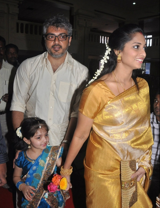 Ajith and Shalini daughterlatest photo