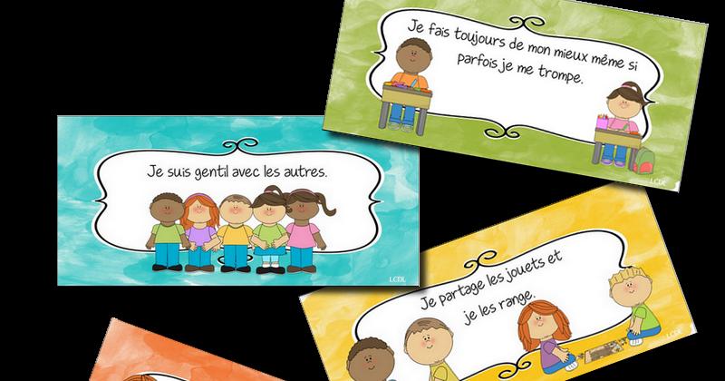 Super La maternelle de Laurène: règles de vie illustrées OQ64