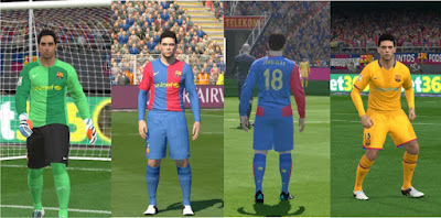 PES 2016 FC Barcelona 2006/2007 Kit by MRI_20