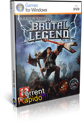 Download da Capa 3D do Game Brutal Legend PC BY Torrent Rápido!!!